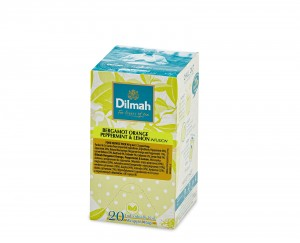 Dilmah Bergamot Orange, Peppermint & Lemon [20x2g]