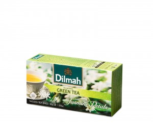 Dilmah Green Tea with natural Jasmine [30x1,5g]